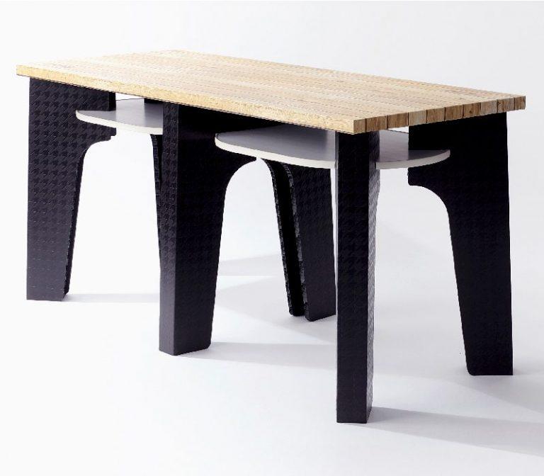 白パネテーブル